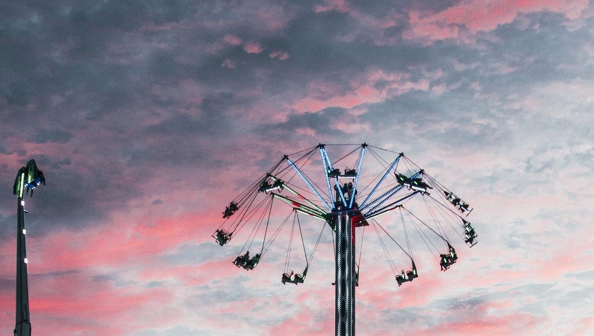 parque de diversiones para niños y adultos