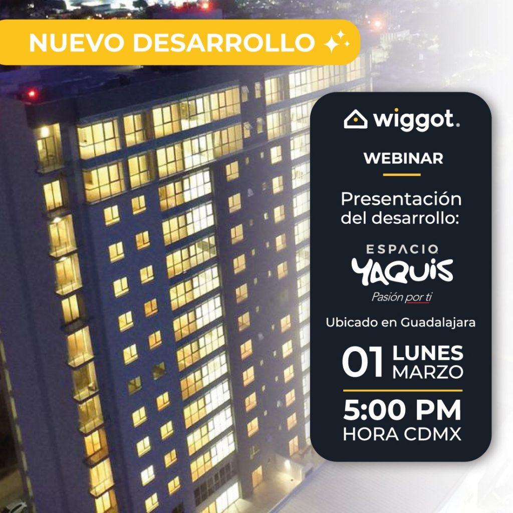 Webinar presentación espacio Yaquis, Guadalajara, 1 de marzo 2021